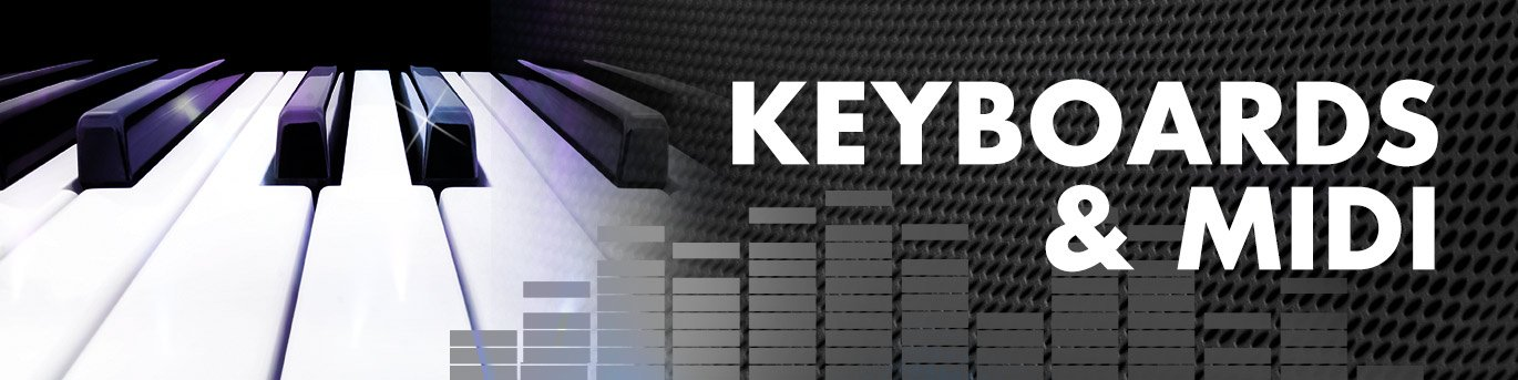 Keyboards and MIDI, Musical Instruments | Full Compass Systems