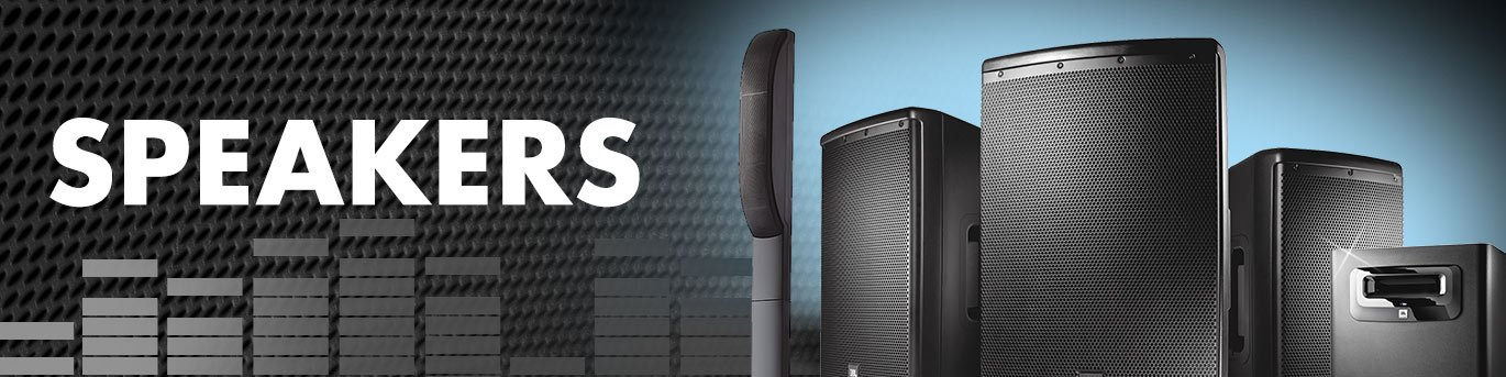 Speakers, Live Sound | Full Compass Systems