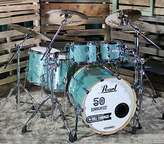 Pearl Music City Custom 6-Piece Drum Kit