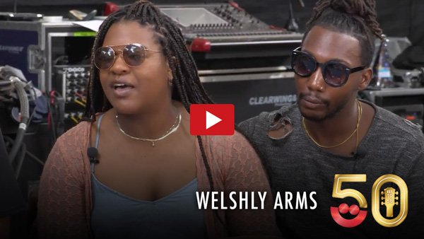 Welshly Arms Interview from Summerfest 2017