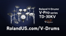 Roland TD-30KV V-Pro Series Electronic Drum Kit -- Artists Impressions