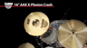 "Sabian AAX 16"" X-Plosion Crash Cymbal Review"