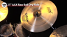 "Sabian AAX 21"" Raw Bell Dry Ride Cymbal Review"
