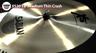 "Sabian Xs20 18"" Crash Cymbal Review"