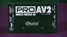 Radial Engineering ProAV2 Passive Direct Box