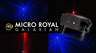 American DJ Micro Royal Galaxian Mini Laser Beams