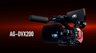 Panasonic AG-DVX200PJ 4K Professional Camcorder - A New Legend Begins