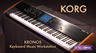 Korg Kronos Workstation Keyboard Overview