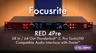 Focusrite RED 4Pre 58-in/64-out Thunderbolt 2 Audio Interface Overview