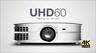 Optoma UHD60 4K/UHD/HD Projector Intro