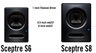 PreSonus Sceptre S6 & S8 CoActual Active Studio Monitors