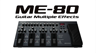 Boss ME-80 Guitar Multi Effects Pedalboard