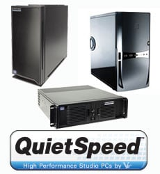 QuietSpeed Audio/Video Production Line