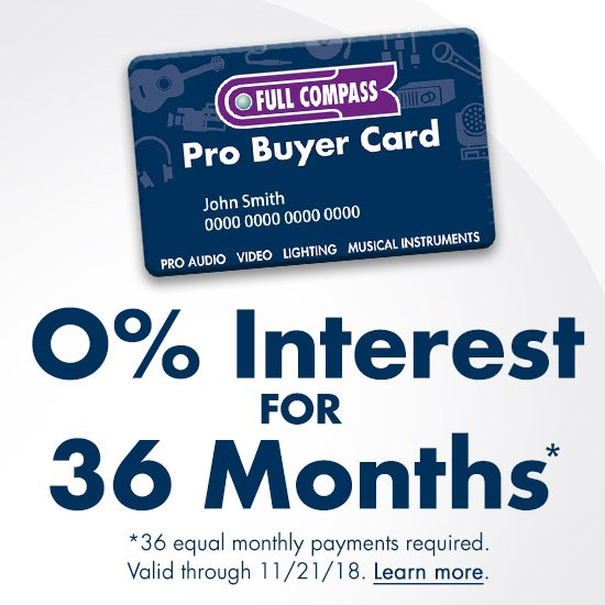 0% Interest for 36 Months