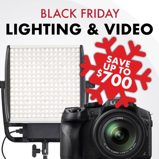 Black Friday Lighting & Video