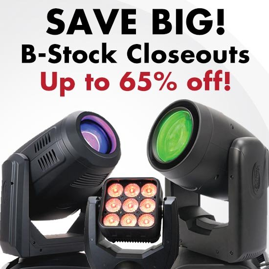Save up to 65% on Lighting B-Stock