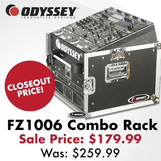 Odyssey Combo Rack CLOSEOUT