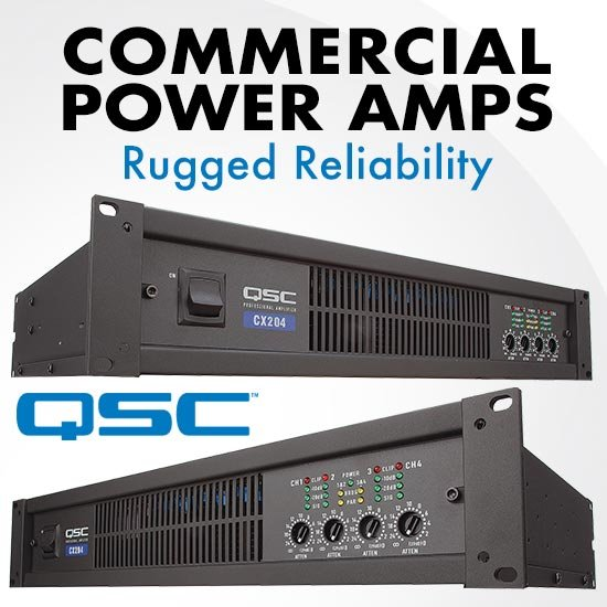 QSC Commercial Power Amps