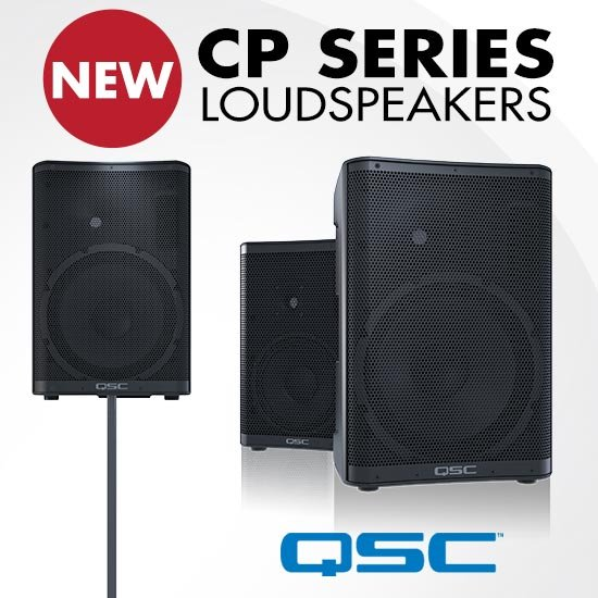 New QSC CP Series Loudspeakers