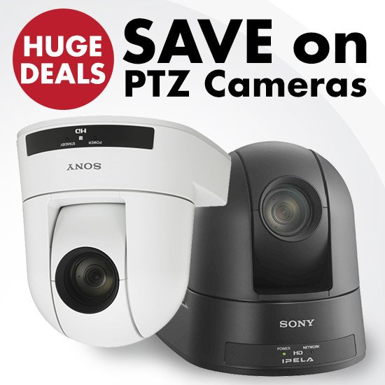 Huge Deals on PTZ Cameras