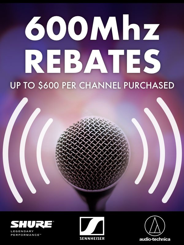 600MHz Wireless Gear Rebates