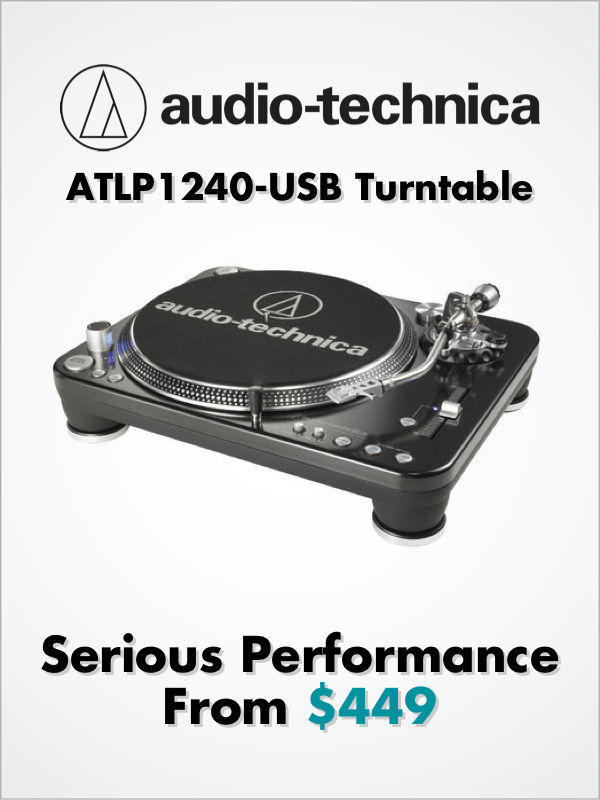 Audio-Technica - Serious Performance