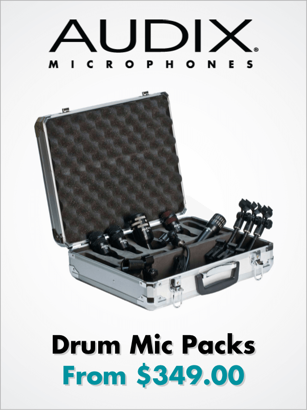 Audix - Drum Mic Packs