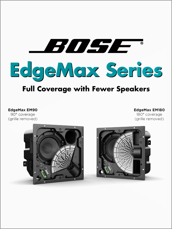Full Coverage with Fewer Speakers