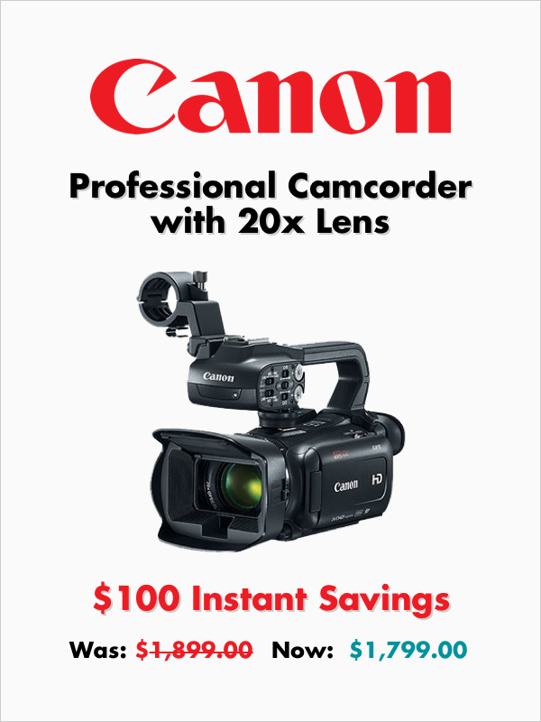 Pro Video Camcorder For The Experts