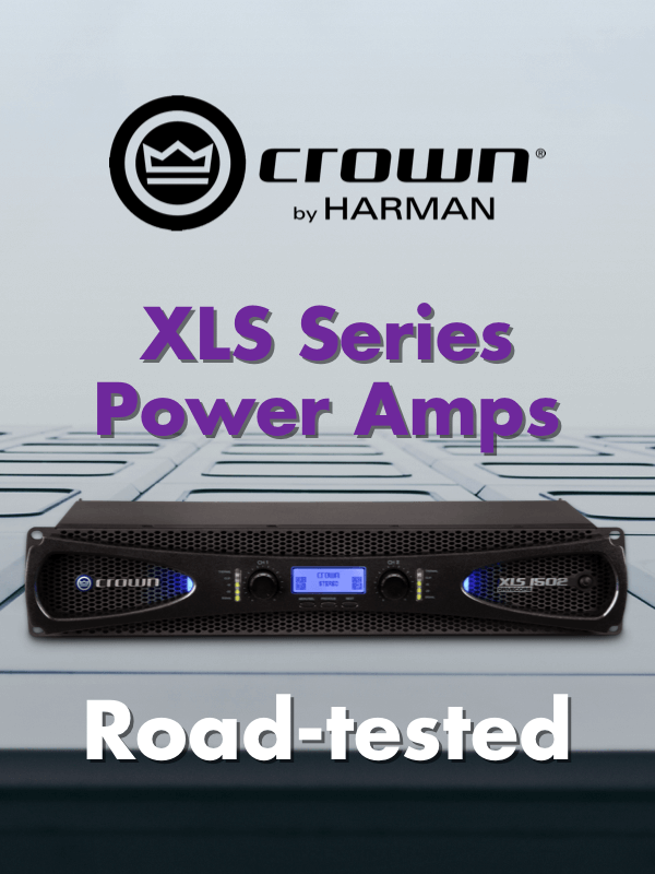 Crown XLS Series Power Amps