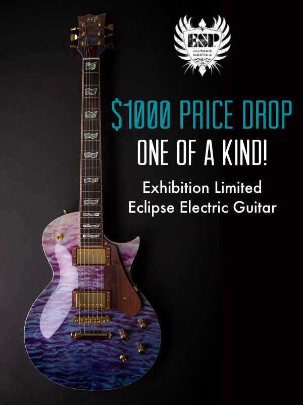 Exhibition Limited Eclipse Electric Guitar