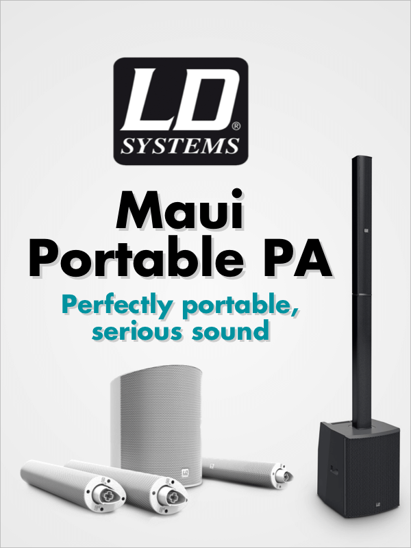 LD Systems Maui Portable PA