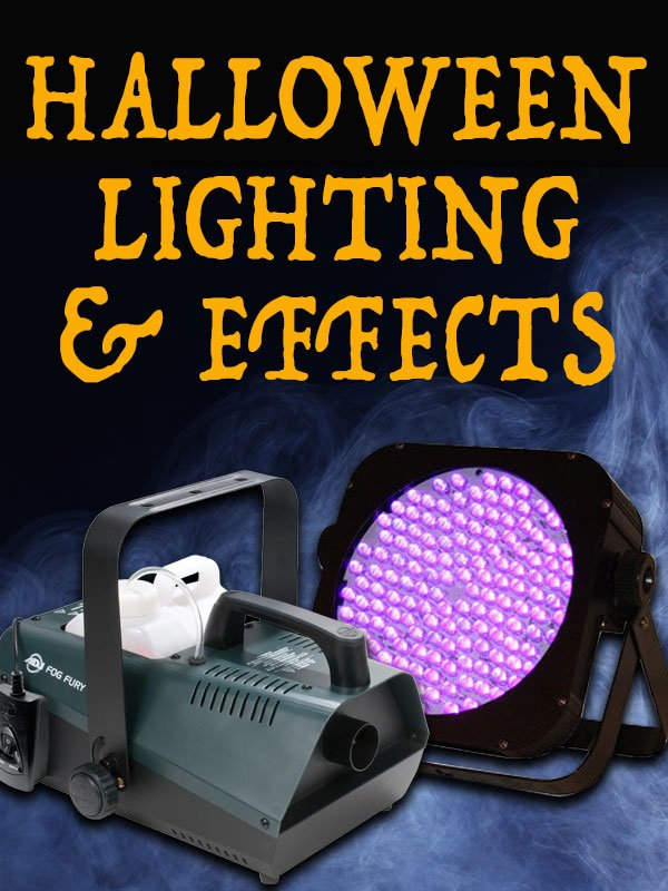Halloween Lighting and Effects