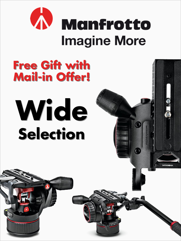 Manfrotto - Free Gift with Mail-in Offer!