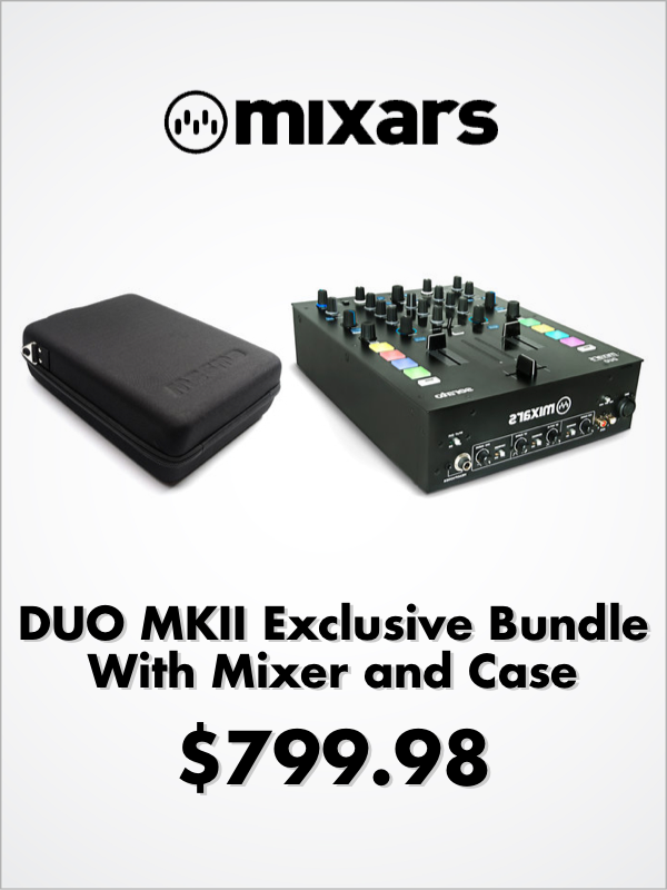 Mixars DUO MKII Exclusive Bundle