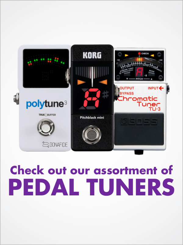 Various Check out our assortment of Pedal Tuners