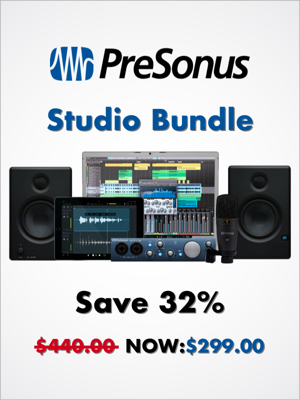 PreSonus Studio Bundle