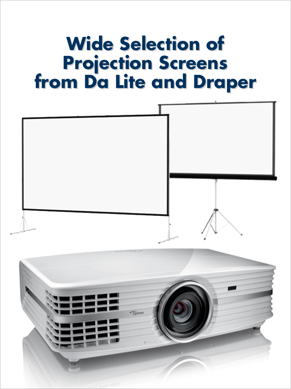 Wide Selection of Projector Screens