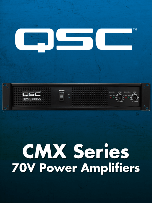 QSC CMX Series Power Amplifiers