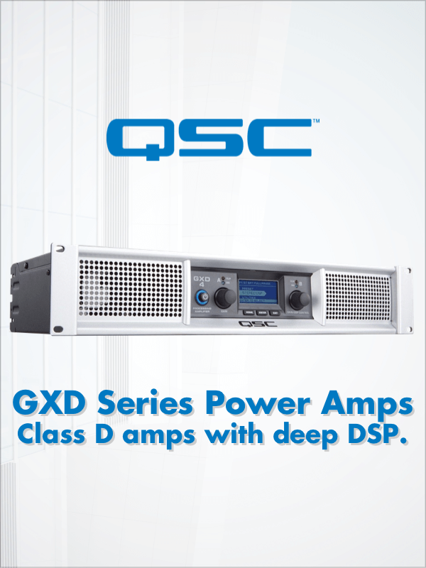 QSC GXD Series Power Amps