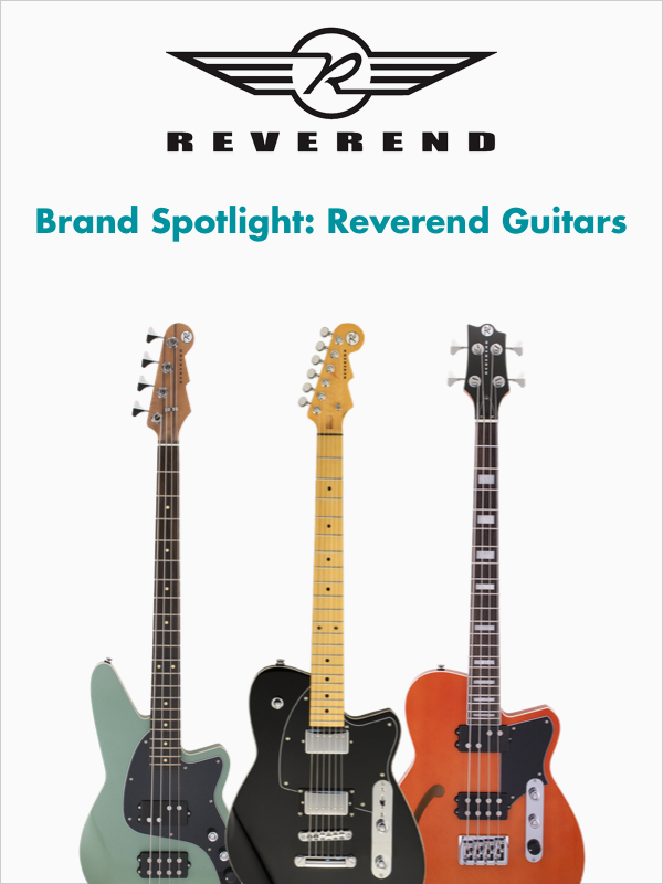 Brand Spotlight: Reverend Guitars