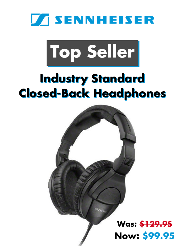Sennheiser - Closed-Back Headphones