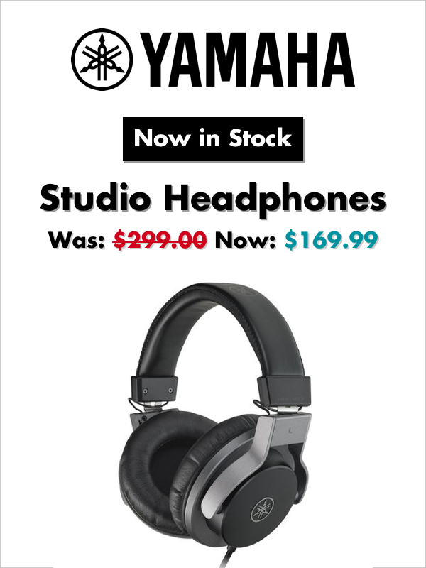 Yamaha Studio Headphones