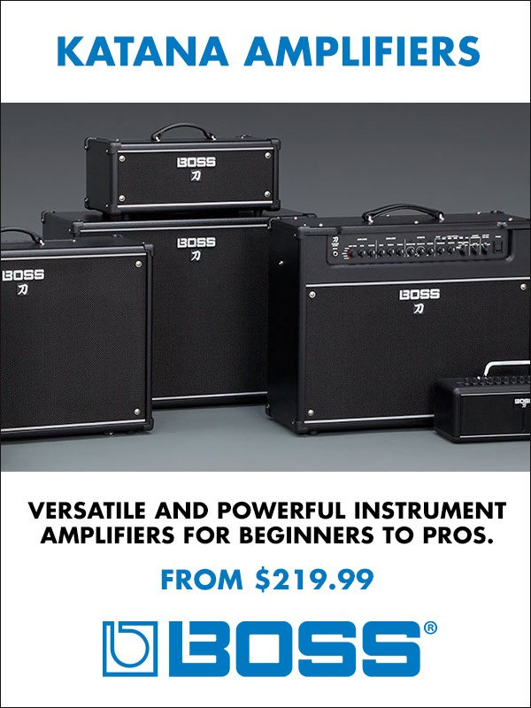 Boss Katana Amplifiers from $219.99