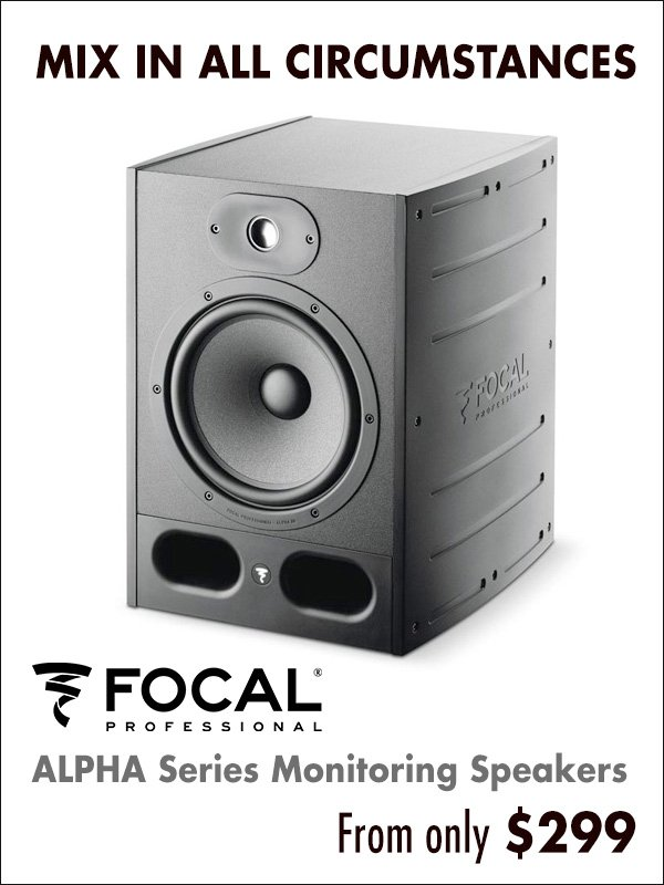 Focal ALPHA Series Monitoring Speakers