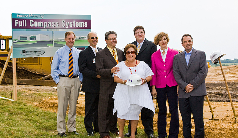 Full Compass - Official Groundbreaking - August 2008